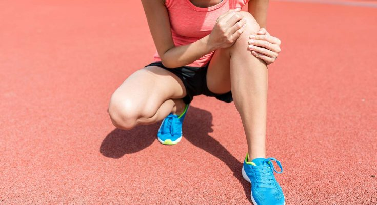 how to lose fat around knees
